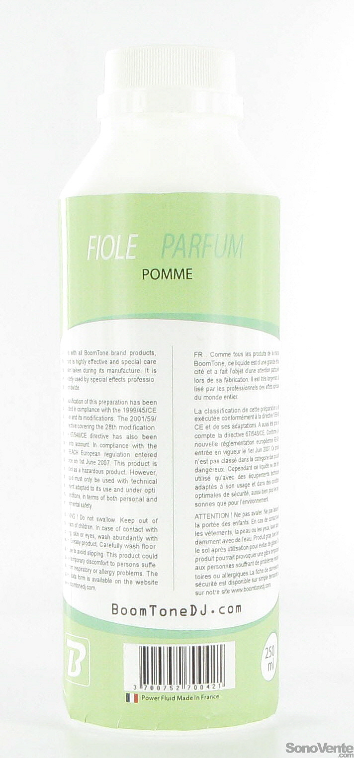 Fiole Pomme 250 ml