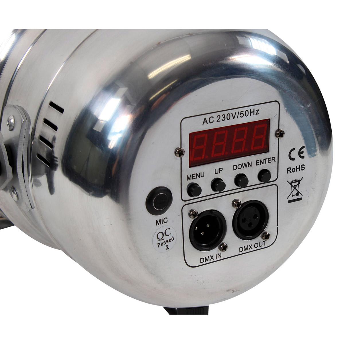 PAR 56 RGB LED Silver