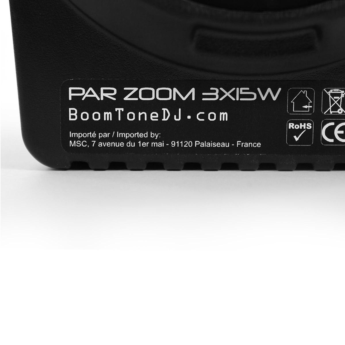 PAR Zoom 3X15W