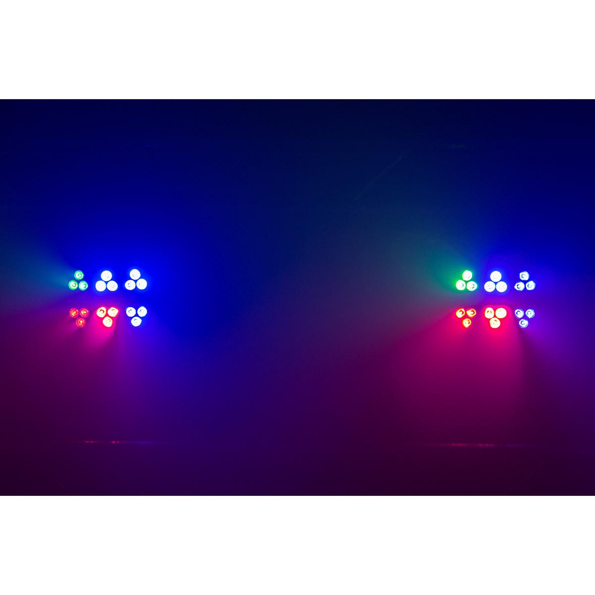 6 Pack LED PAR